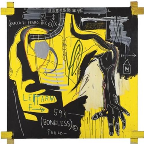 Jean-Michel Basquiat-Bracco Di Ferro-1983