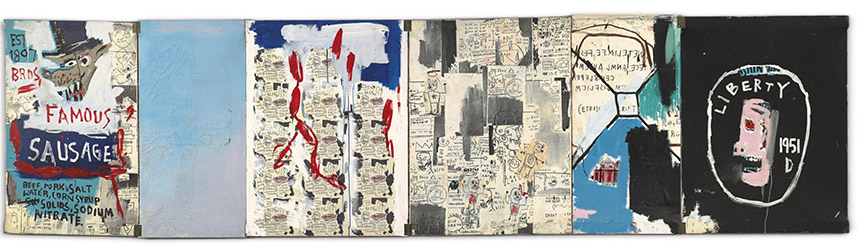 Jean-Michel Basquiat-Brother Sausage-1983