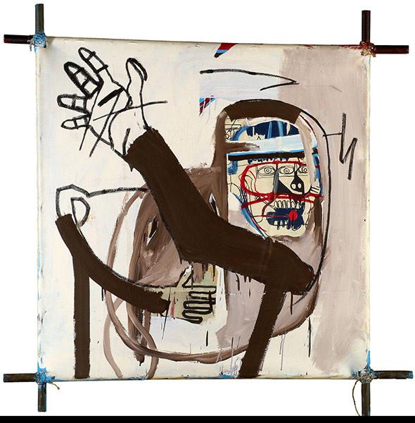 Jean-Michel Basquiat-Cantasso-1982