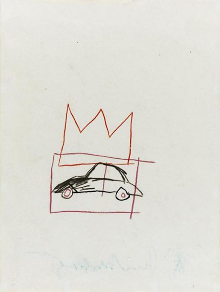 Jean-Michel Basquiat-Car-1981