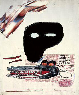Jean-Michel Basquiat-Carbon-1984