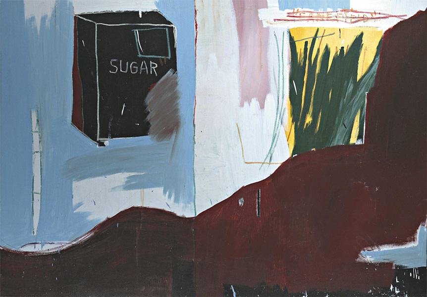 Jean-Michel Basquiat-Cash Crop-1984
