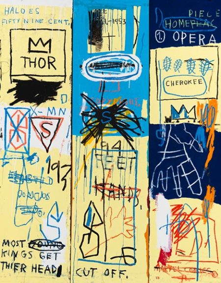 Jean-Michel Basquiat-Charles the First-1982