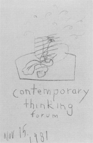 Jean-Michel Basquiat-Contemporary Thinking Forum-1981