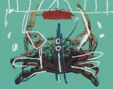 Jean-Michel Basquiat-Crab-1984