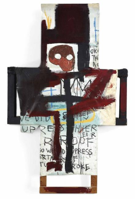 Jean-Michel Basquiat-Crisis X-1982
