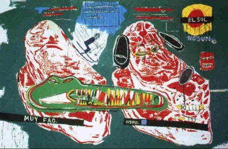 Jean-Michel Basquiat-Crocodile-1984