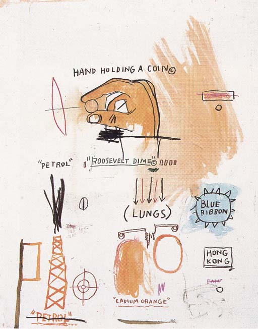 Jean-Michel Basquiat-Currency-1984