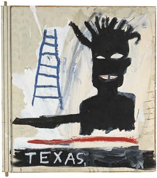 Jean-Michel Basquiat-Dallas-1983
