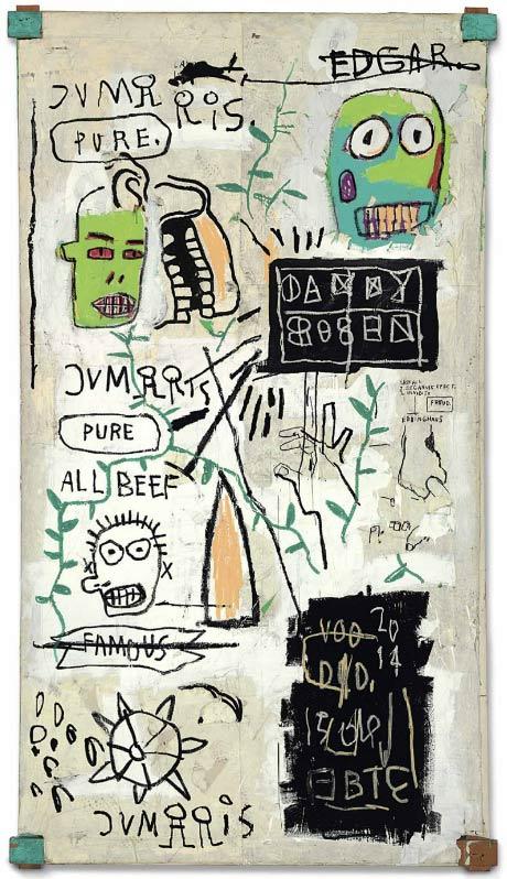 Jean-Michel Basquiat-Danny Rosen-1983