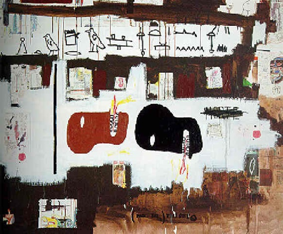 Jean-Michel Basquiat-Dark Milk-1986