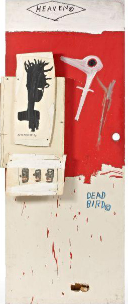 Jean-Michel Basquiat-Dead Bird-1985