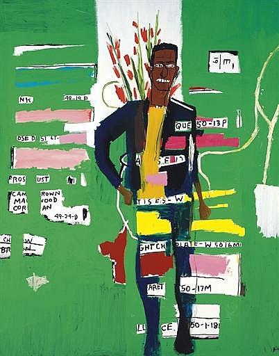 Jean-Michel Basquiat-Desmond-1984