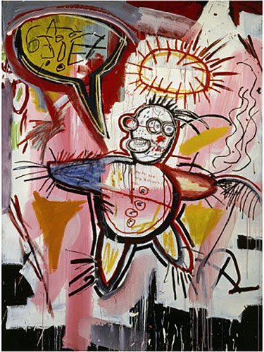 Jean-Michel Basquiat-Donut Revenge-1982