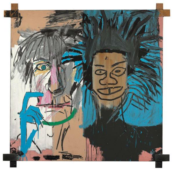 Jean-Michel Basquiat-Dos Cabezas-1982