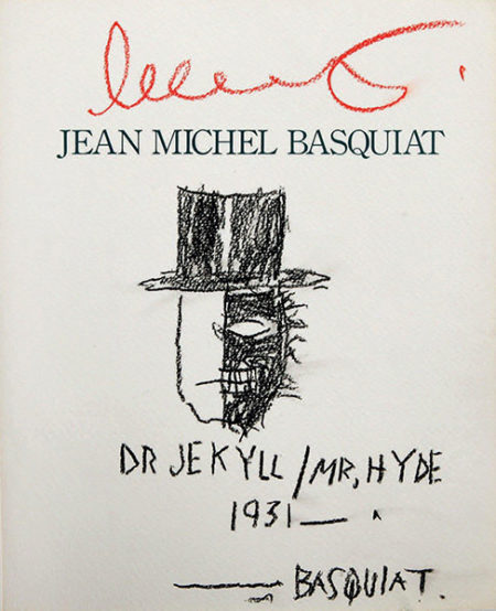 Jean-Michel Basquiat-Dr Jekyll / Mr Hyde 1931-1988