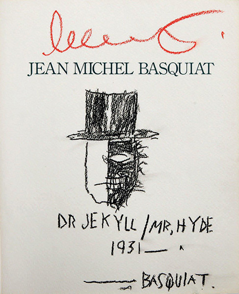 Jean-Michel Basquiat-Dr Jekyll / Mr Hyde 1931-1988