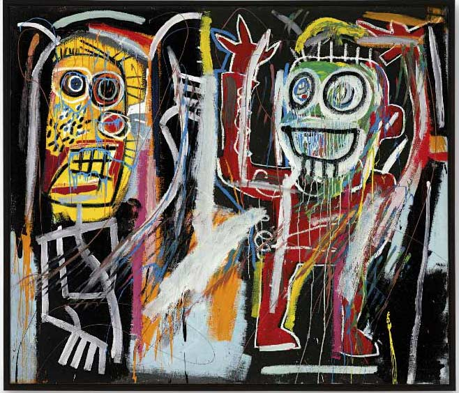 Jean-Michel Basquiat-Dustheads-1982
