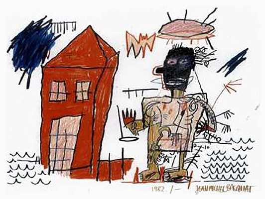 Jean-Michel Basquiat-Earlm-1982