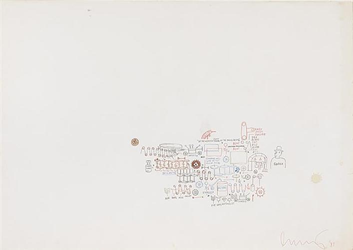 Jean-Michel Basquiat-Easy Mark Sucker - Coach-1987