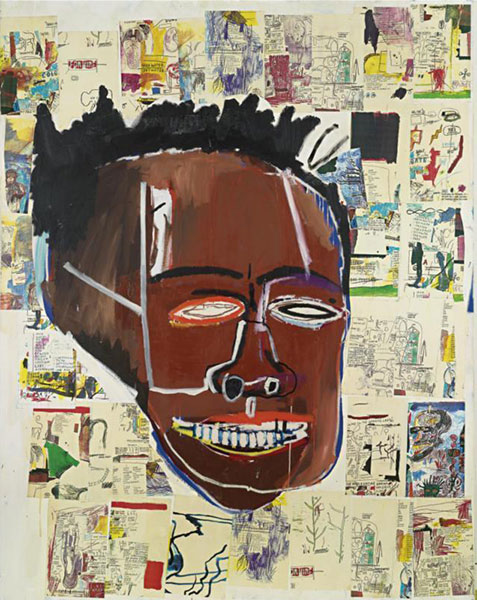 Jean-Michel Basquiat-Elaine-1985