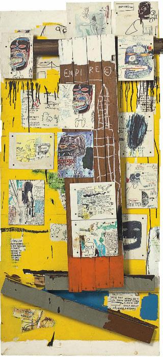 Jean-Michel Basquiat-Enob-1985