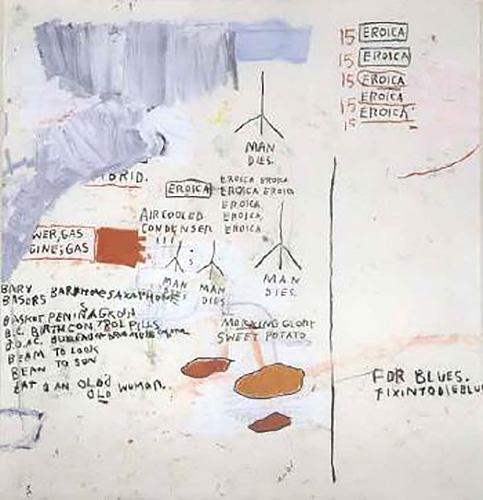 Jean-Michel Basquiat-Eroica I-1988