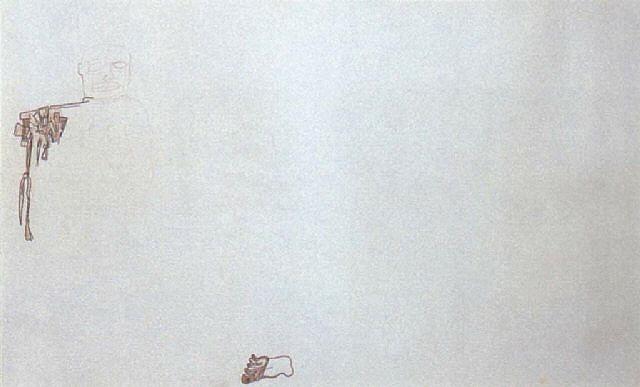 Jean-Michel Basquiat-Esquisse D'homme-