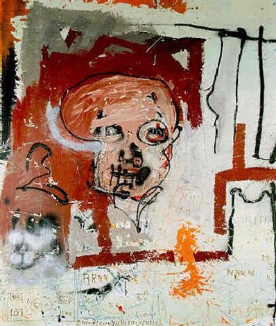 Jean-Michel Basquiat-Famous Negro-1981