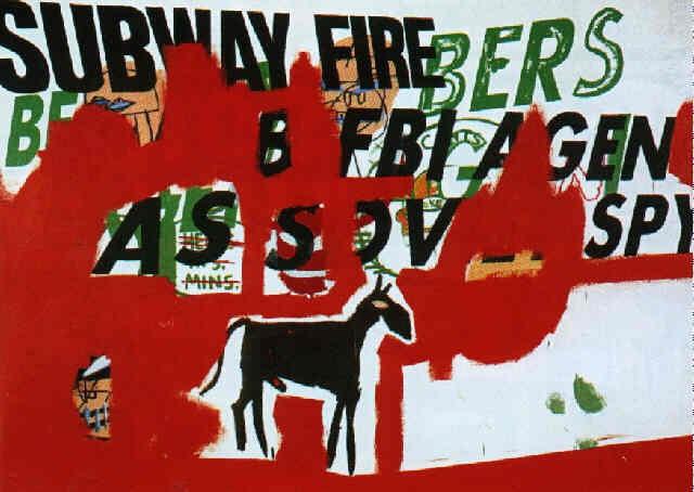 Jean-Michel Basquiat-Fbi-Plate 14-1984