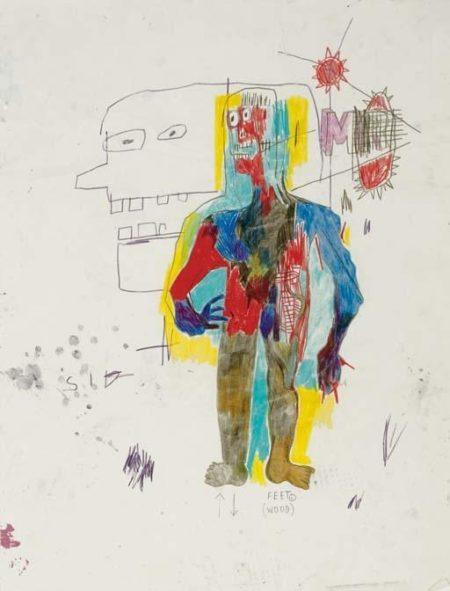 Jean-Michel Basquiat-Feet-1984