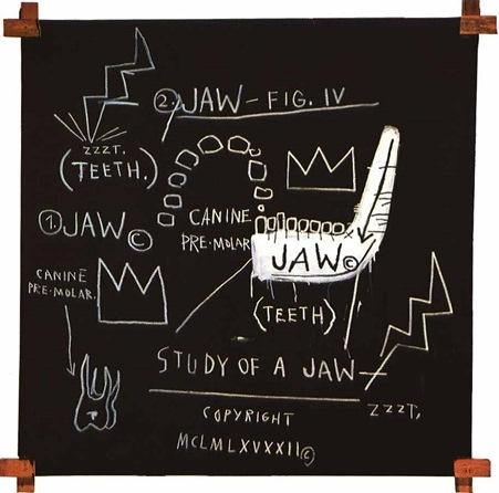 Jean-Michel Basquiat-Figure Four-1982
