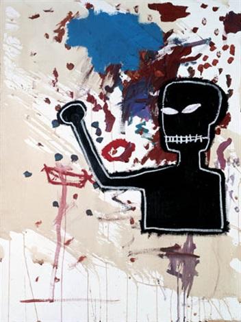 Jean-Michel Basquiat-Fist-1986