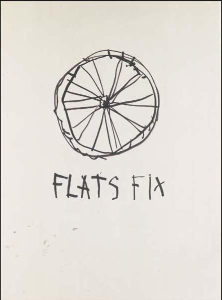 Jean-Michel Basquiat-Flats Fix-1981