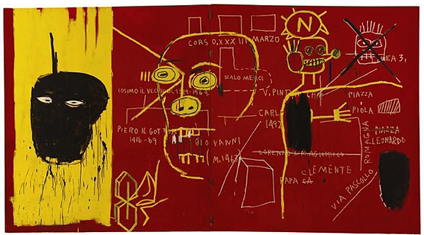 Jean-Michel Basquiat-Florence-1983