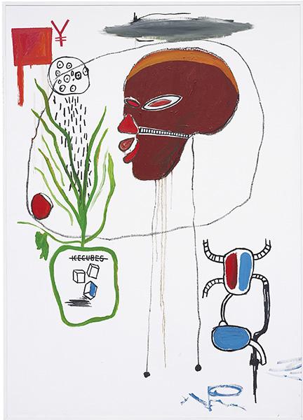 Jean-Michel Basquiat-For B.A.M.-1985