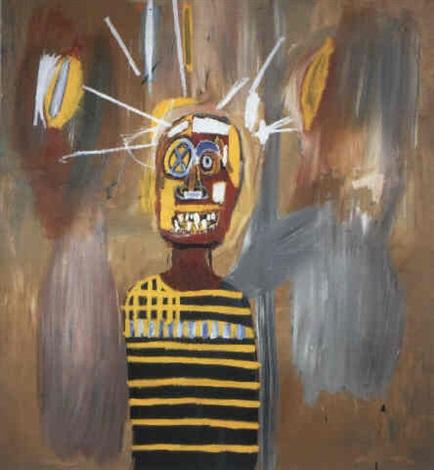 Jean-Michel Basquiat-Freddie-1984