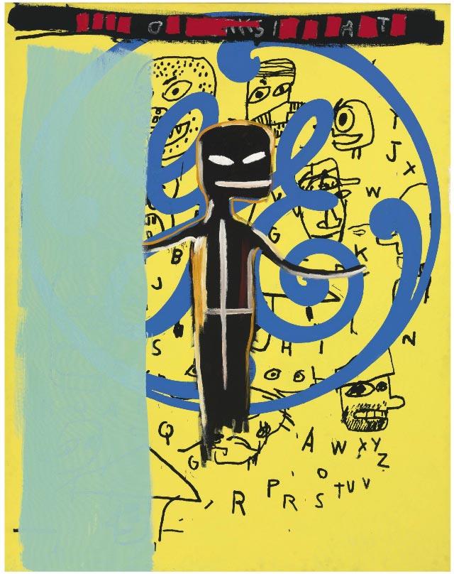 Jean-Michel Basquiat-GE-1984