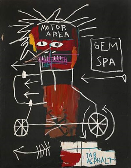 Jean-Michel Basquiat-Gem Spa-1982