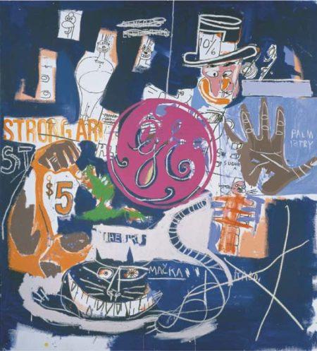 Jean-Michel Basquiat-General Electric-1985