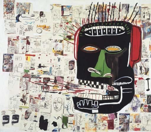 Jean-Michel Basquiat-Glenn-1985