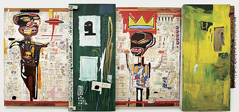 Jean-Michel Basquiat-Grillo-1984