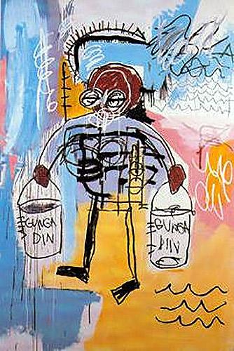 Jean-Michel Basquiat-Gunga Din-1981
