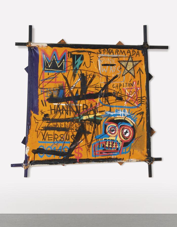 Jean-Michel Basquiat-Hannibal-1982
