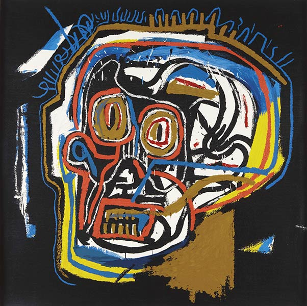 Jean-Michel Basquiat-Head (PP)-1983