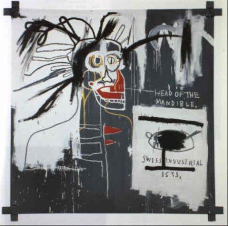 Jean-Michel Basquiat-Head of the Mandible-1982