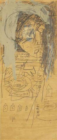 Jean-Michel Basquiat-Henry Geldzahler-1981
