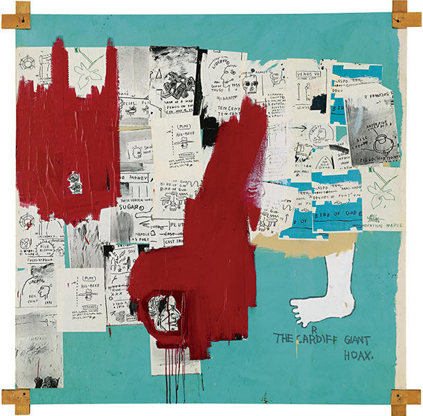 Jean-Michel Basquiat-Hoax-1983