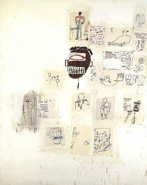 Jean-Michel Basquiat-Hohner-1985