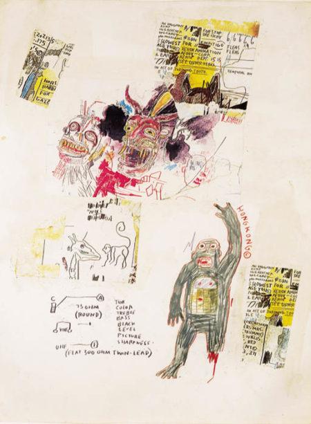 Jean-Michel Basquiat-Hong Kong-1985
